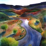 Chama River | Watercolor | 36x24 in. | Sold