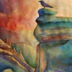Cliff View | Watercolor | 22x30 in. | Sold